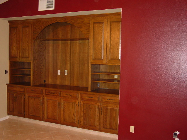 Sacramento Custom Entertainment Cabinet Design Gallery