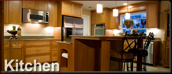 Image Of Kitchen Wood Cabinet Gallery