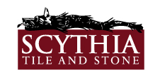 Scythia Tile and Stone Logo